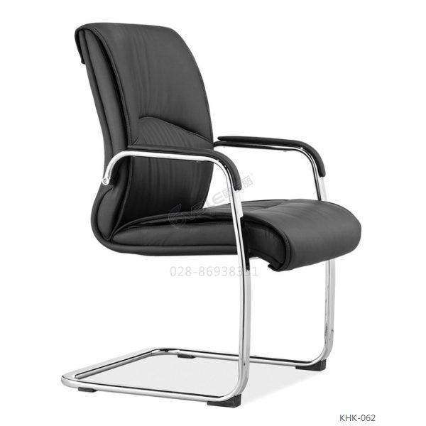 精品钢架会议椅 广东高品质椅架 韩皮