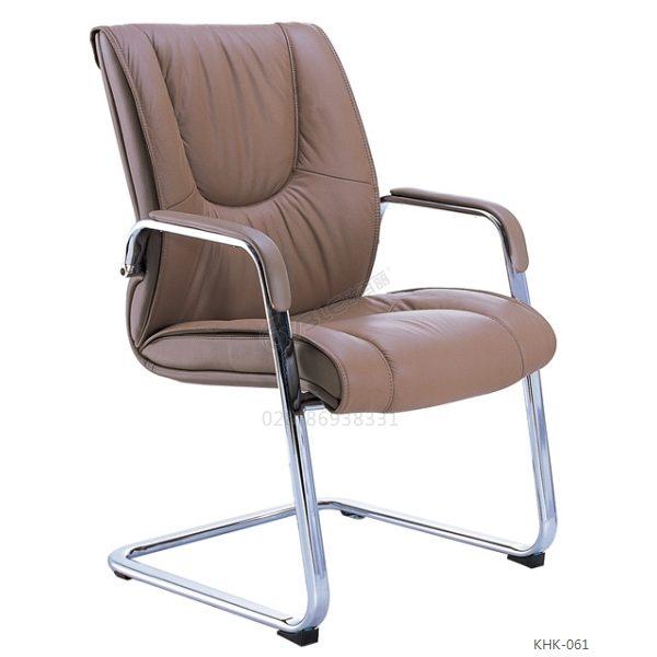 头层牛皮会议椅 manbetx万博苹果版精品棕色弓形椅