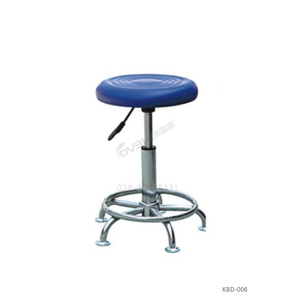 PU加厚发泡圆吧凳 实验室高品质吧椅