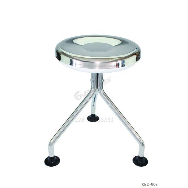 精品吧椅 高档不锈钢圆吧凳