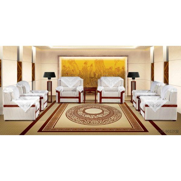 贵宾沙发 高档布艺单人沙发