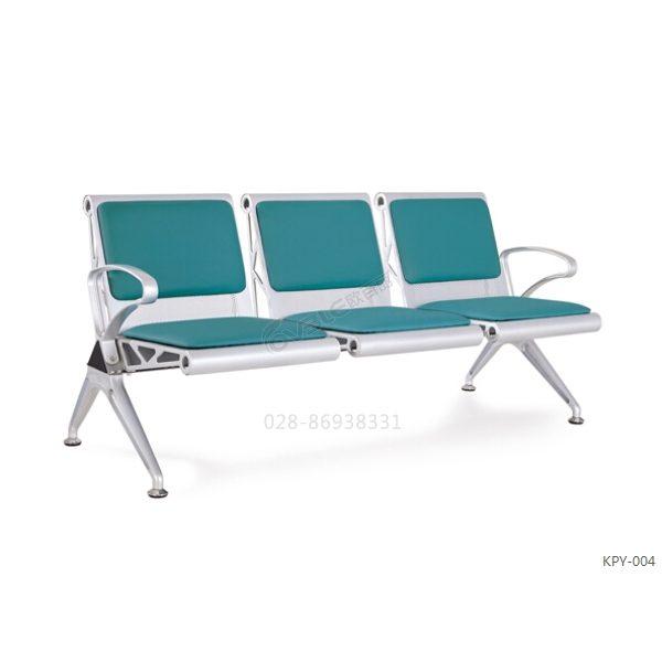 高品质钢排椅 医院候诊椅 大厅三人等